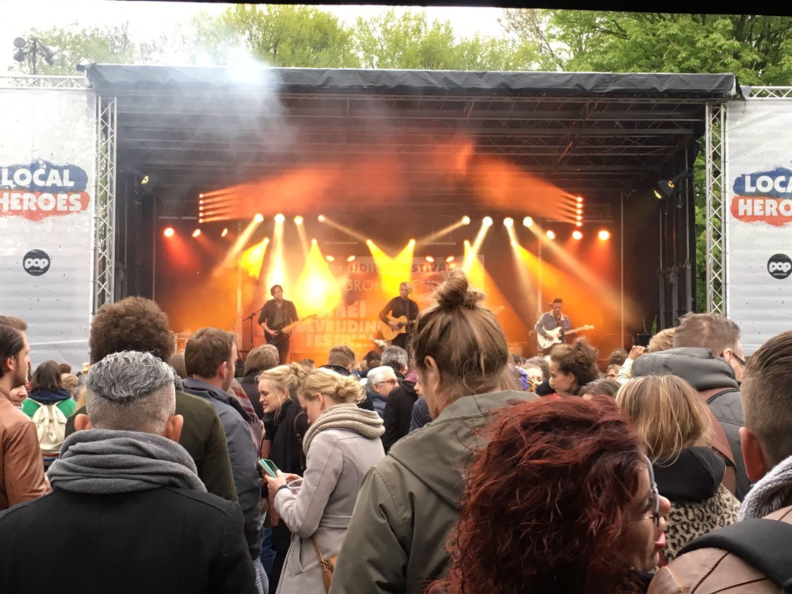 Bevrijdingsfestival Groningen #2017